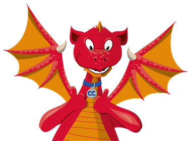 Siarter Iaith CP THUMBS UP DRAGON